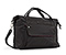 Linda Shoulder Bag - marina nylon 420 black