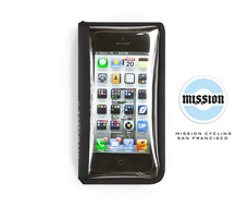 Mission Cycling Wallet for iPhone & Android Front