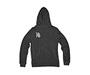 Unisex Full-Zip Hoodie Sweatshirt Back