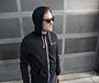 Unisex Full-Zip Hoodie Sweatshirt Model