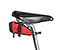 Bike Seat Pack XT - ballistic nylon bixi red