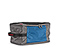 OCD Packing Cube - 420d nylon gunmetal / blue / gunmetal