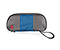 Clear Flexito Toiletry Kit - ballistic nylon gunmetal / blue / gunmetal