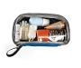 Clear Flexito Toiletry Kit Open