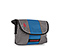 Grande Burrito Toiletry Kit - ballistic nylon gunmetal / blue / gunmetal
