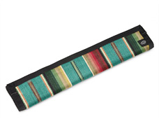 southwestern stripes turquoise multi-Color