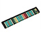 Custom Strap Pad - southwestern stripes turquoise multi-color