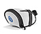 Bike Seat Pack - ballistic nylon white