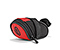 Bike Seat Pack - ballistic nylon bixi red / black