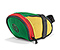 Bike Seat Pack - ballistic nylon emerald / reso yellow