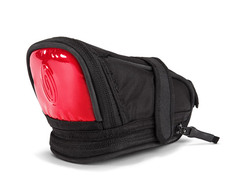 coated nylon black / Ultra Reflective red