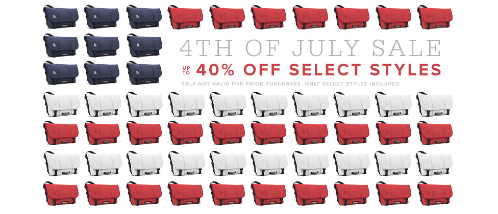 4th of July Sale - Up to 40% Off Select Styles