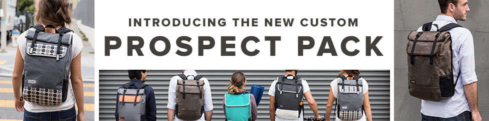 Introducing the New Customizable Prospect Pack, Handmade in San Francisco. Customize Your Prospect.