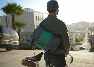 The Classic Custom Messenger. Design Yours Today