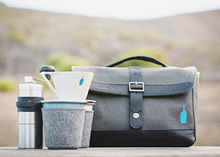 Brew Where You Are The Blue Bottle Travel Coffee Kit.