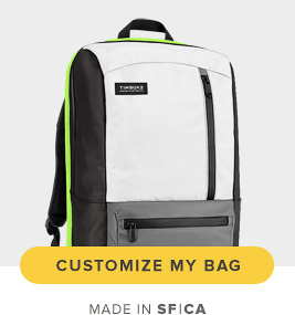Make a Statement. Customize Your Bag. Made in SF|CA.