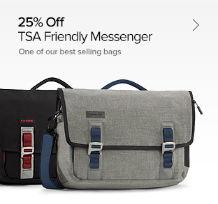 25% Off – TSA Friendly Messenger - One of Our Best-selling Bags