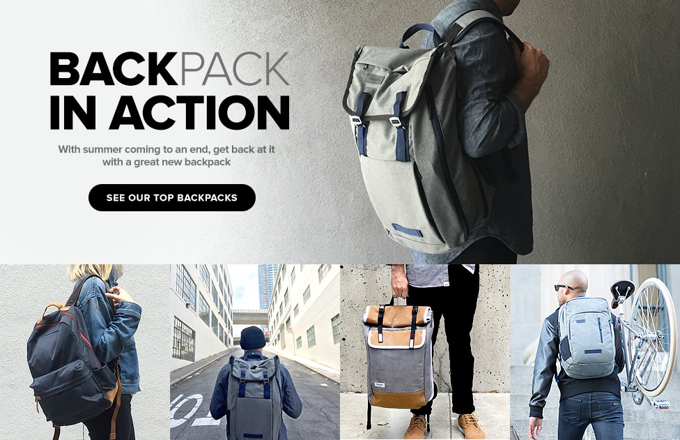 Back Pack in Action – Shop Now
