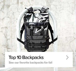 Top 10 Backpacks - See our favorite backpacks for fall