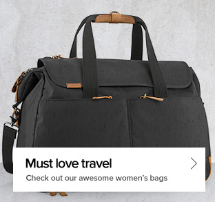 Must Love Travel - Check out our awesome women's bags
