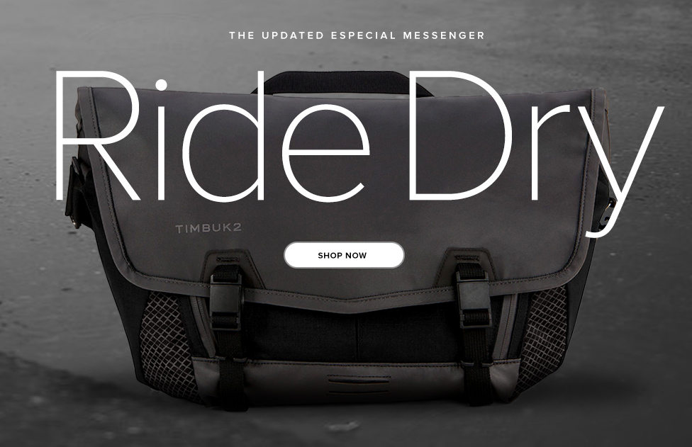 The Updated Especial Messenger - Ride Dry - Shop Now