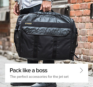 Pack like a boss - the perfect accessories for the jet set