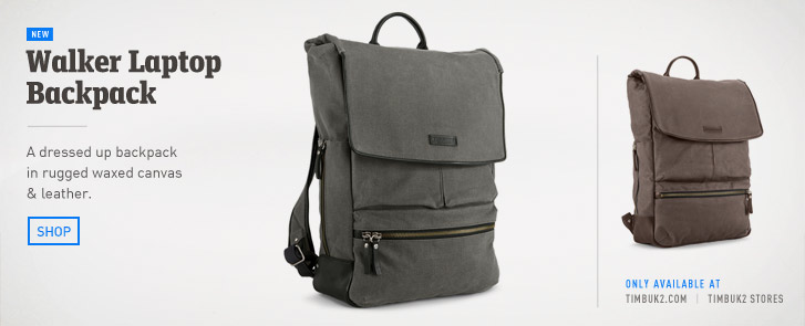 Walker Laptop Backpack for MacBook Pro