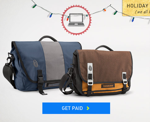 Holiday Baggage: Get Paid.