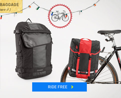 Holiday Baggage: Ride Free.