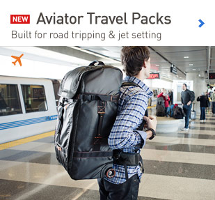 New Aviator Travel Backpacks