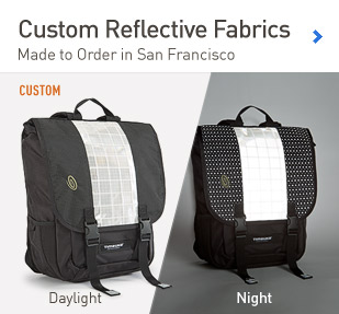 Custom Reflective Fabrics. Customize a Bag.