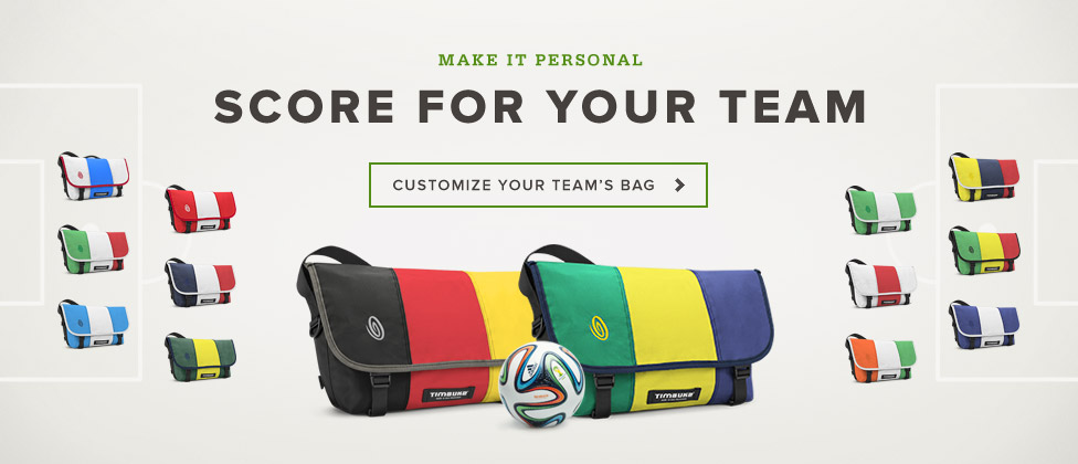 Make it Personal. Customize Your Team's Bag.