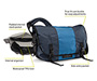 Classic Messenger Bag 2013 Diagram