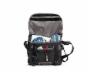 D-Lux Laptop Bondage Messenger Bag Open