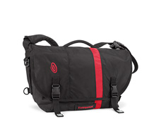 D-Lux Laptop Racing Stripe Messenger Bag Front
