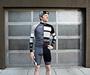Men's Team Cycling Jersey Model