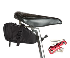 Bike Seat Pack XT With Tools Front